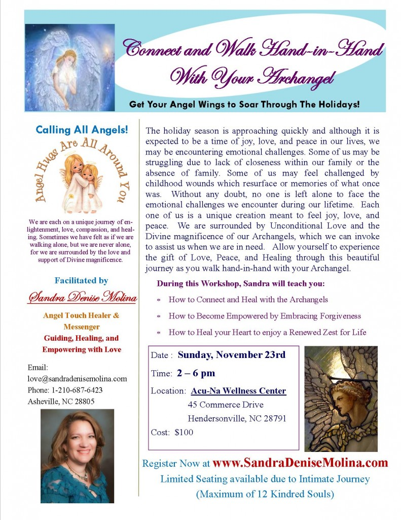 Angel Workshop Nov 2014 Sandra Denise Molina